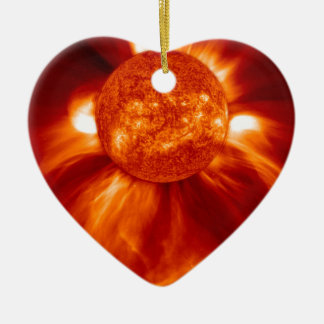 Sun Blast Christmas Ornament