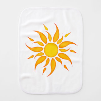 Sun Burp Cloth