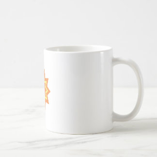 Sun Burst Classic White Coffee Mug