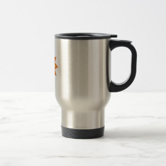 Sun Burst 15 Oz Stainless Steel Travel Mug