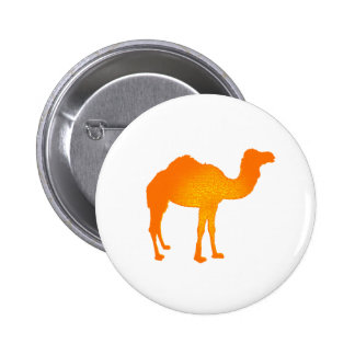 Sun Camel Pinback Button