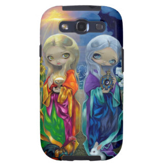 """""""Sun Child and Moon Child"""" Galaxy S Case Galaxy S3 Covers"""