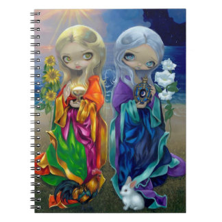 """""""Sun Child and Moon Child"""" Notebook"""