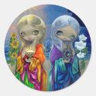"""Sun Child and Moon Child"" Sticker"