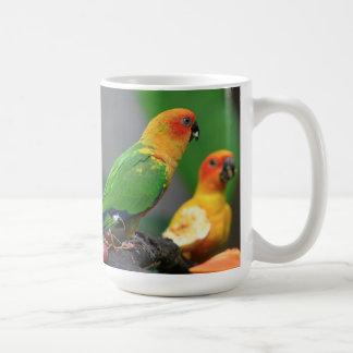 Sun Conure  Bird Mug