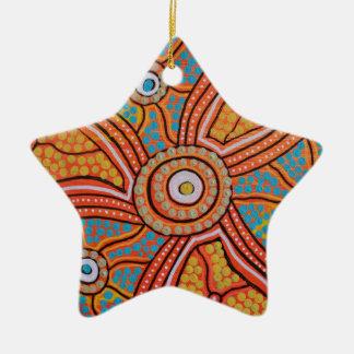 Sun Corroboree Christmas Ornament