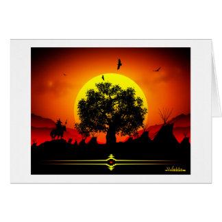Sun Dance Card