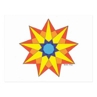 SUN DANCER STAR POSTCARD