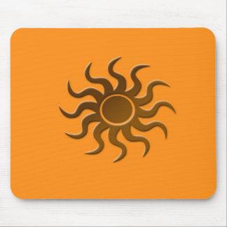 Sun design mouse mat