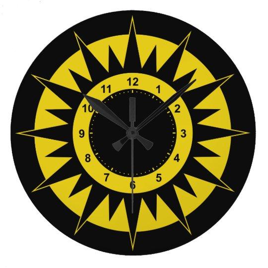 Sun Dial wall clocks