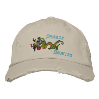sun dragon sports, Dragon, Boating Embroidered Hat