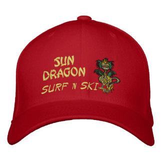 Sun Dragon Surf n ski Hat Embroidered Hat