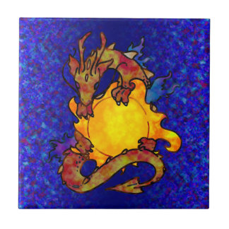 Sun Dragon Tile