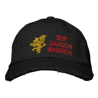 Sun Dragon Warrior Embroidered Hat