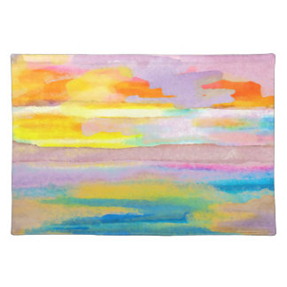 Sun Drama 2 Ocean Sea Lovers Colorful Placemats