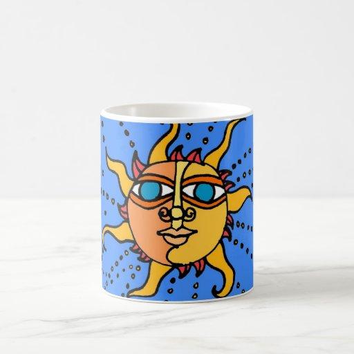 Sun Drawing Coffee Mug