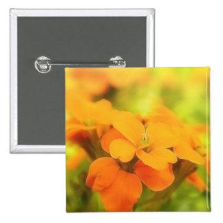 Sun Drenched Siberian Wallflower Pin