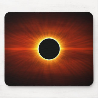 Sun Eclipse Mouse Pad