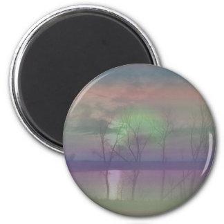 Sun Effects 6 Cm Round Magnet