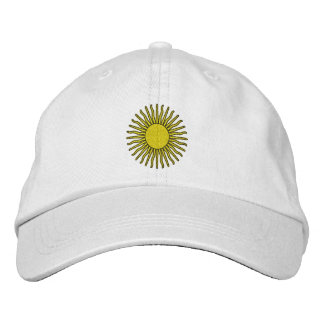 Sun Embroidered Hat