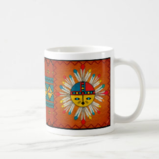 Sun Face Coffee Mug