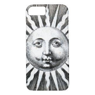 Sun Face Engraving iPhone 7 Case
