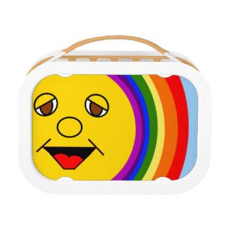 Sun Face Rainbow Yubo Lunchbox