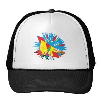 Sun Feathers Trucker Hat