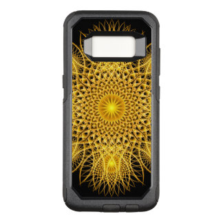 Sun Flake Mandala OtterBox Commuter Samsung Galaxy S8 Case