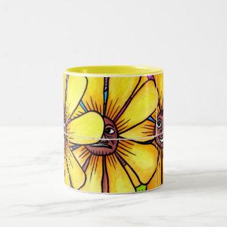 Sun Flower and Friends Mug 1
