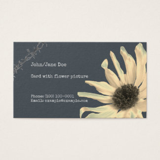 Sun Flower Business Card