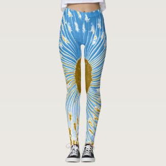 sun flower leggings