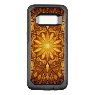 Sun Flower Mandala OtterBox Commuter Samsung Galaxy S8 Case