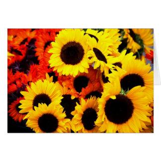 Sun Flower's Note Card
