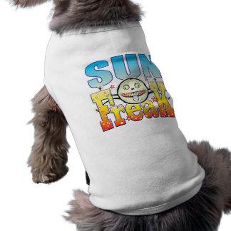 Sun Freaky Freak Sleeveless Dog Shirt