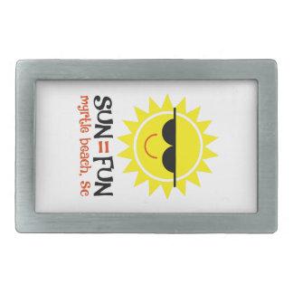 Sun = Fun Belt Buckle