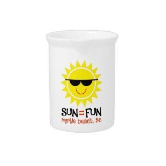Sun = Fun Pitcher