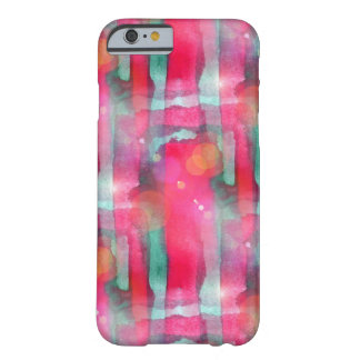 Sun glare abstract painted watercolor barely there iPhone 6 case