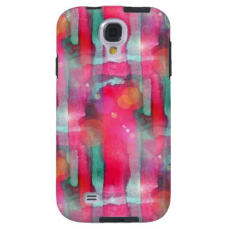 Sun glare abstract painted watercolor galaxy s4 case