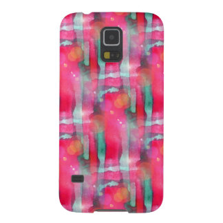Sun glare abstract painted watercolor galaxy s5 case