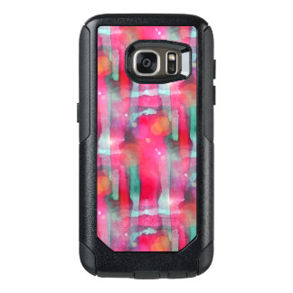 Sun glare abstract painted watercolor OtterBox samsung galaxy s7 case