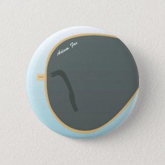 Sun Glasses 6 Cm Round Badge