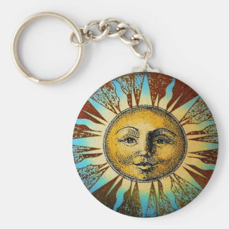 Sun God Key Chain
