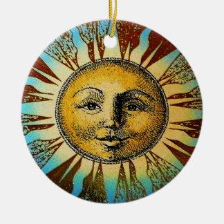 Sun God Ornament