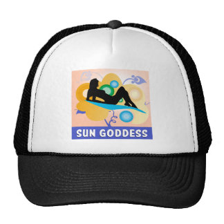 Sun Goddess Trucker Hat