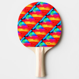 Sun-Halo Ping Pong Paddle
