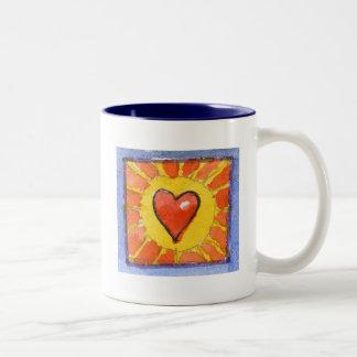 Sun Heart Mug