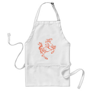 Sun Horse Red Standard Apron