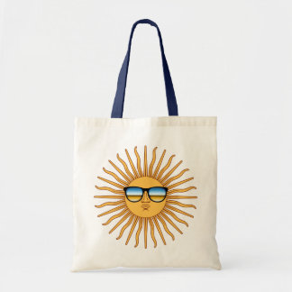 Sun in Shades Tote Bag