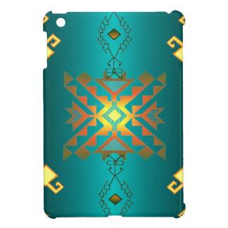 Sun In Winter Blanket Pattern iPad Mini Cover